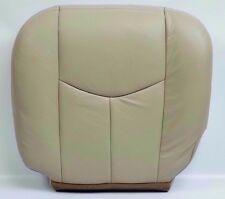 2003 2004-05-2006 Tahoe Suburban Yukon Driver Bottom Seat Cover light Tan vinyl