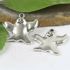 10pcs Tibetan silver penguin design charms h0963