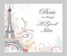 EIFFEL TOWER PARIS COMPUTER MOUSE PAD  9 X 7