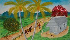 Original Art Arte Oil Painting Santeria Cuba Cuban Artist Osmar Pena Clavel 6