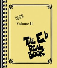 The Real Book Volume II Sheet Music Eb Edition Real Book Fake Book NEW 000240228