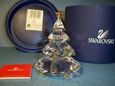 SWAROVSKI CRYSTAL CHRISTMAS TREE RETIRED 266945 BNIB COA