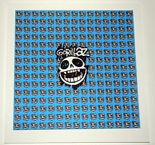 Gorillaz Blotter Art /Fan Art perforated 900 hits  psychedelic acid art
