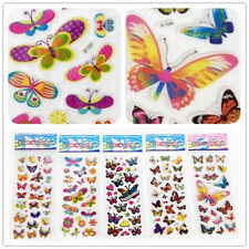 "Stickers lot--3D PVC Foam Classic cartoon children""Colorful butterfly""Stickers"