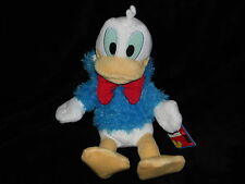 With Tags OFFICIAL DISNEY DONALD DUCK SOFT TOY IN BLUE PLUSH JACKET HOODIE