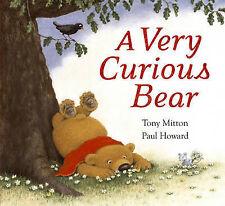 A Very Curious Bear,ACCEPTABLE Book