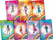 Rainbow Magic Pop Star Fairies Collection Daisy Meadows 7 Books Set (113-119)