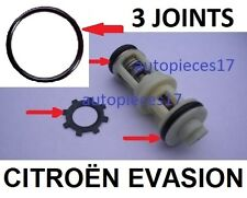 KIT 3 JOINTS + CLIPS  REPARATION PANNE SUPPORT FILTRE GASOIL CITROËN EVASION D *