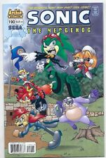 ARCHIE COMICS SONIC THE HEDGEHOG #190 SCOURGE! SEGA! 9.4 / NM