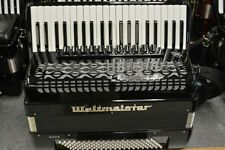 Weltmeister Saphir Piano Accordion 120 Bass Black 2016 Model