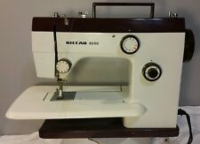 Vintage RICCAR 8500 Sewing Machine Accessories & Foot Pedal Works Great!!!
