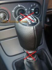 FOR RENAULT LAGUNA MK2 LEATHER BLACK COVER FOR GEAR KNOB 6 SPEED LIFT-UP REVERSE