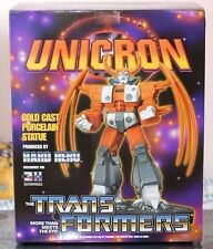 "TransFormers Botcon Hard Hero Cold Cast Porcelain Statue 12"" UNICRON #266 G1 MIB"