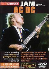 LICK LIBRARY Learn to Play JAM WITH AC/DC Back in Black Thunderstruck GUITAR DVD