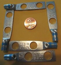 "5Pcs. 256-30695-253 Thomas & Betts T&B 6-CU Lug SB 2H 3/8"" 6AWG Tin Plt BLUE 24"