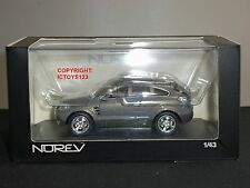 NOREV 360030 OPEL ANTARA GTC SALON DE FRANKFORT 2005 GREY DIECAST MODEL CAR