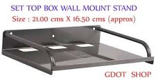 SET TOP BOX WALL MOUNT STAND SHELF METAL - EASY INSTALLATION