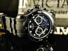 Invicta Men's 48mm Scuba Pro Diver Swiss Chronograph Black Dial Black Tone Watch