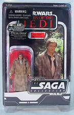 HAN SOLO Endor~ Star Wars VINTAGE Original TRILOGY Collection 2006~ MOC~VOTC~otc