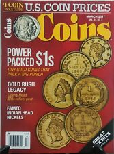 Coins March 2017 Power Packed $1s Gold Rush Legacy Liberty Head FREE SHIPPING sb