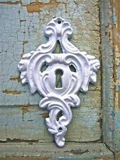 SHABBY n CHIC *FURNITURE APPLIQUES*KEYHOLES * ONLAYS * RESIN & WOOD MOLDINGS
