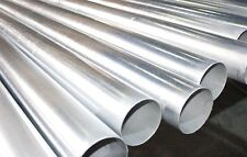 "8"" Schedule 40 Galvanized Pipe Tube Tubing, 12"" Long"