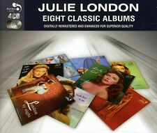Julie London EIGHT (8) CLASSIC ALBUMS Calendar Girl ABOUT THE BLUES New 4 CD
