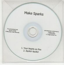 (GO910) Make Sparks, Your Hearts On Fire - DJ CD