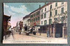CPA. CONTREXEVILLE. 88 - Hôtel Moderne et du Casino.