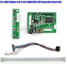 """HDMI LCD LVDS Controller Board Kits for 17"""" LP173WD1 B173RW01 1600x900 LCD Panel"""