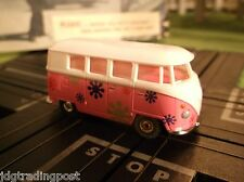 MINT VW Bus Slot Car AURORA MoDEL MoToRING T Jet Chassis for Race Track Sets
