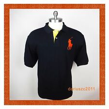 POLO RALPH LAUREN SIZE 4XLT  SHORT SLEEVE PONY AVIATR NAVY  POLO SHIRT T-SHIRT