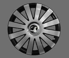 4x15'' Wheel trims Hub caps fit Vauxhall Astra Zafira  - silver black 15'' new