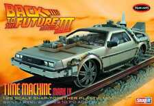 BACK TO THE FUTURE III TIME MACHINE FINAL ACT 1/25 MODEL KIT NIB #sdec16-75