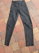 """MICHAEL HOBAN""North Beach Leather Pockets Biker Pants size 28 (W28""/L35"")"