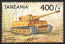 WWII Panzerkampfwagen TIGER German Heavy Tank Stamp