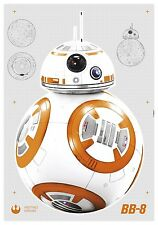 14726h-DISNEY Multicolore STAR WARS BB-8 Carta da Parati Komar