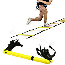 New Speed Agility Fitness Training Ladder Footwork Football 5-rung Soccer