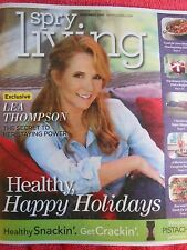SPRY LIVING NOVEMBER 2015 LEA THOMPSON BEST WORST FOODS FOR DIABETES