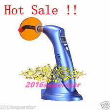 2016 Dental 5W 1500mw Wireless Cordless LED Curing Light Lamp 2200mAh