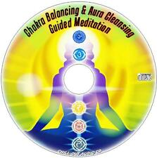 GUIDED MEDITATION CHAKRA BALANCING & AURA HEALING CD NEW ALTERNATIVE MEDICINE