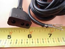 Lead Power Cord 3 ROUND PRONGS FREE ARM Kenmore 148,158,385 sewing machine LC-10