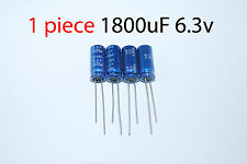 Capacitor Nippon 1800uF 6.3v 105C 8x20mm. Radial. US Seller