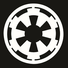 Star Wars - Empire Logo Decal / Sticker Choose Color & Size - The Force Awakens