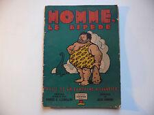 BD rare Fables de la fontaine 1943 Robert E. LLEWELLYN Homme Le Bipede