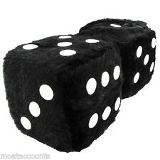 A Pair Of Large Furry Dice [SWFD] Fury Fuzzy Lucky