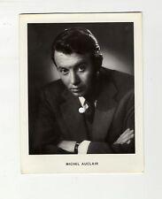 Carte postale 33t sonore (musique et voix) France Phonostar n°7 Michel Auclair