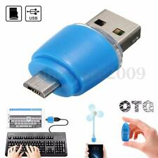 Mini OTG Micro USB to USB 2.0 Micro SD TF Card Reader Adapter For Android phones