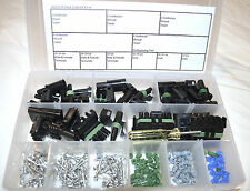 DELPHI WEATHER PACK CONNECTOR STARTER KIT #1 186 PIECES   WEATHERPACK
