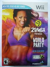 Zumba Fitness World Party - Includes Zumba Fitness Belt - for Wii
